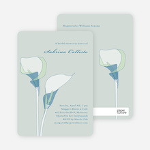 Elegant Flowers - Blue Seagrass
