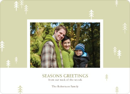 Forest from the Trees: Season's Greetings - Pistachio