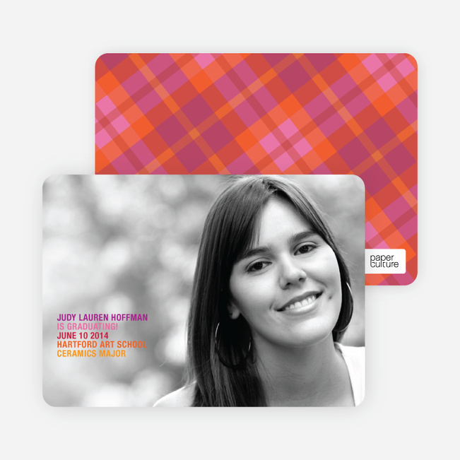 Graduation Photo Invitations - Multi