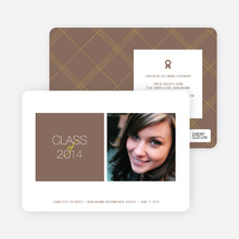 Graduation Squares Invitations - Coco Loco