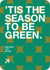 Green Holidays: Eco Conscious and Stylish - Pine Green