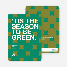 Green Holidays - Pine Green