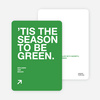 Green Holidays: Eco Conscious and Stylish - Emerald Green