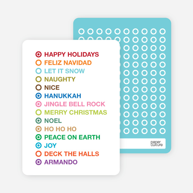 Holiday Checklist Cards - Shamrock