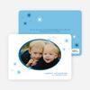 Holiday Photo Stars Holiday Cards - Cadet Blue