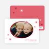 Holiday Photo Stars Holiday Cards - Brick Red