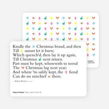Holiday Poem - Emerald
