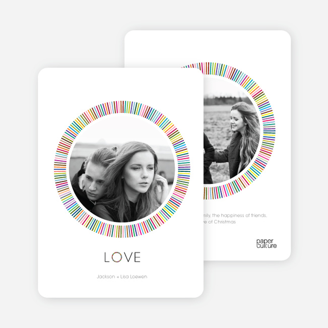 Holiday Rainbow Circles: Memories - Multi