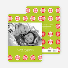 Peppermint Photo Cards - Limeade