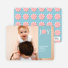 How Sweet It Is Holiday Photo Cards - Seafoam