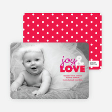 joy & LOVE - Cupid Red