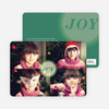 Joyous Circle 4 Photo Cards - Green