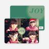 Joyous Circle 4 Photo Cards - Green