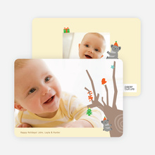Koala Photo Cards for the Holidays - Buff