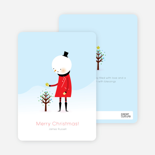 Luke the Whimsical Snowman - Chili Pepper