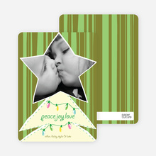 Christmas Tree Star - Olive Green