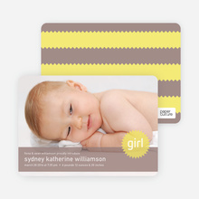 Banner and Star Photo Announcements - Warm Grey