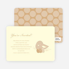 Nesting Mother Invitations - Sand