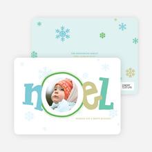 Noel Décor Holiday Photo Cards - Kiwi