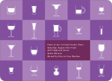 Party Glasses - Amethyst