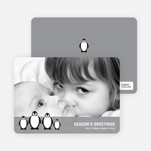 Penguin Family Holidays - Grey