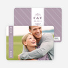 Save the Date Banner Cards - Floral Lavender