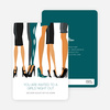 Sex in the City Party Invitations - Teal