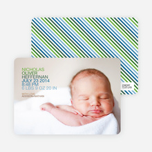 Modern Birth Announcements: Simply Photos - Paper Culture Green