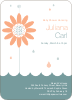 Spring Shower Bring May Flowers Baby Shower Invitations - Apricot