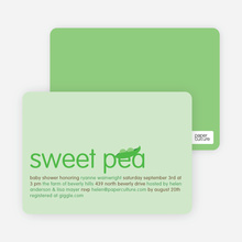 Sweet Pea - Light Lime