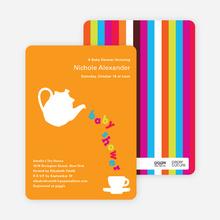 Teapot Alphabet - Pumpkin