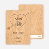 Tree Carving Save the Dates - Main View