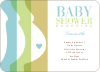 Tummy Love Baby Shower Invitations - Spring Mist