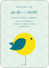 Tweet Tweet Baby Announcement - Light Green