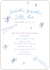 Twinkle, Little Star Baby Shower Invitations - Blue Ice