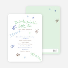 Twinkle, Little Star - Lime