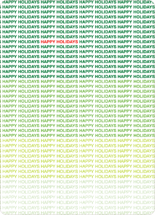 Ultimate Happy Holidays Cards - Asparagus