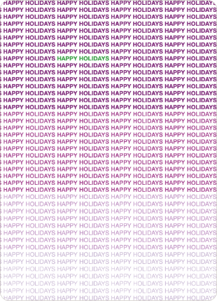Ultimate Happy Holidays Cards - Amethyst