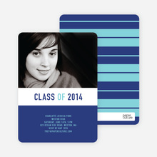Bold and Modern Graduation - Dark Cobalt