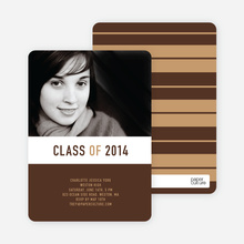 Bold and Modern Graduation - Espresso