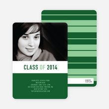 Bold and Modern Graduation - Olive