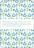 Wallpaper Blooms Bridal Shower Invitations - Spring Air