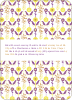 Wallpaper Blooms Bridal Shower Invitations - Lemon Drop