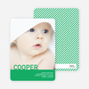 What's My Name Birth Announcements - Green Galapagos