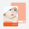 What's My Name Birth Announcements - Ginger