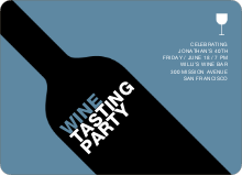 Wine Party - Pale Blue