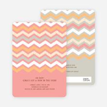 Zig Zag Stripes - Pink