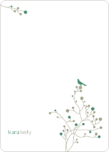 Bird Branch Stationery - Pine
