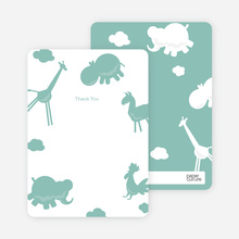 Note Cards: 'Animal Downpour' cards. - Celadon