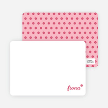 It's a Girl Note Cards - Magenta